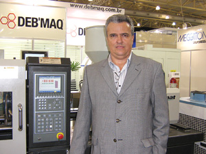 Plástico Moderno, Venceslau B. Salmeron, gerente comercial da Deb'Maq, F+M+U
