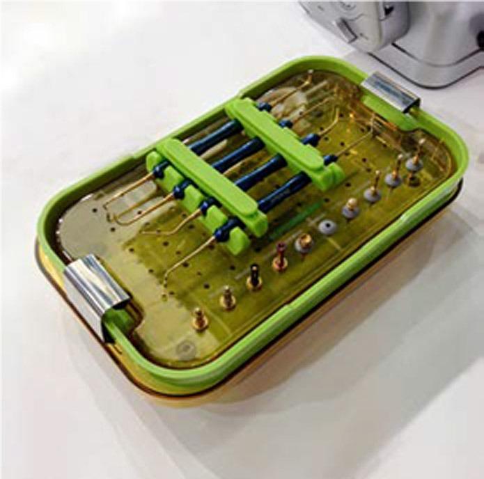 Plástico Moderno - Figura 1: Recipiente de esterilização de dispositivos médicos feito em PPSU [Fonte: UJU New Materials].